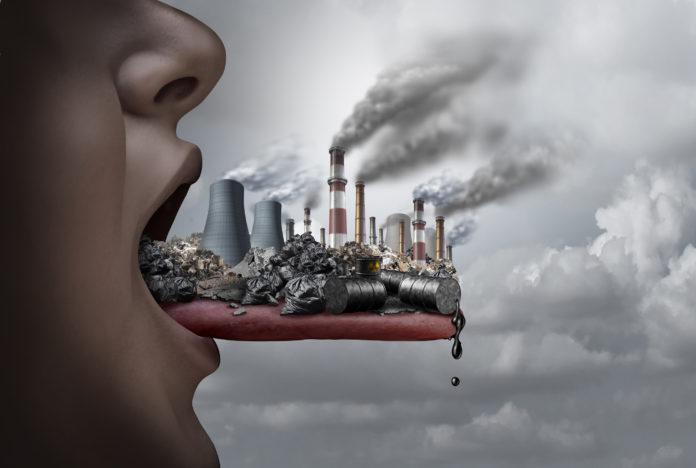 Polución e impacto en las personas