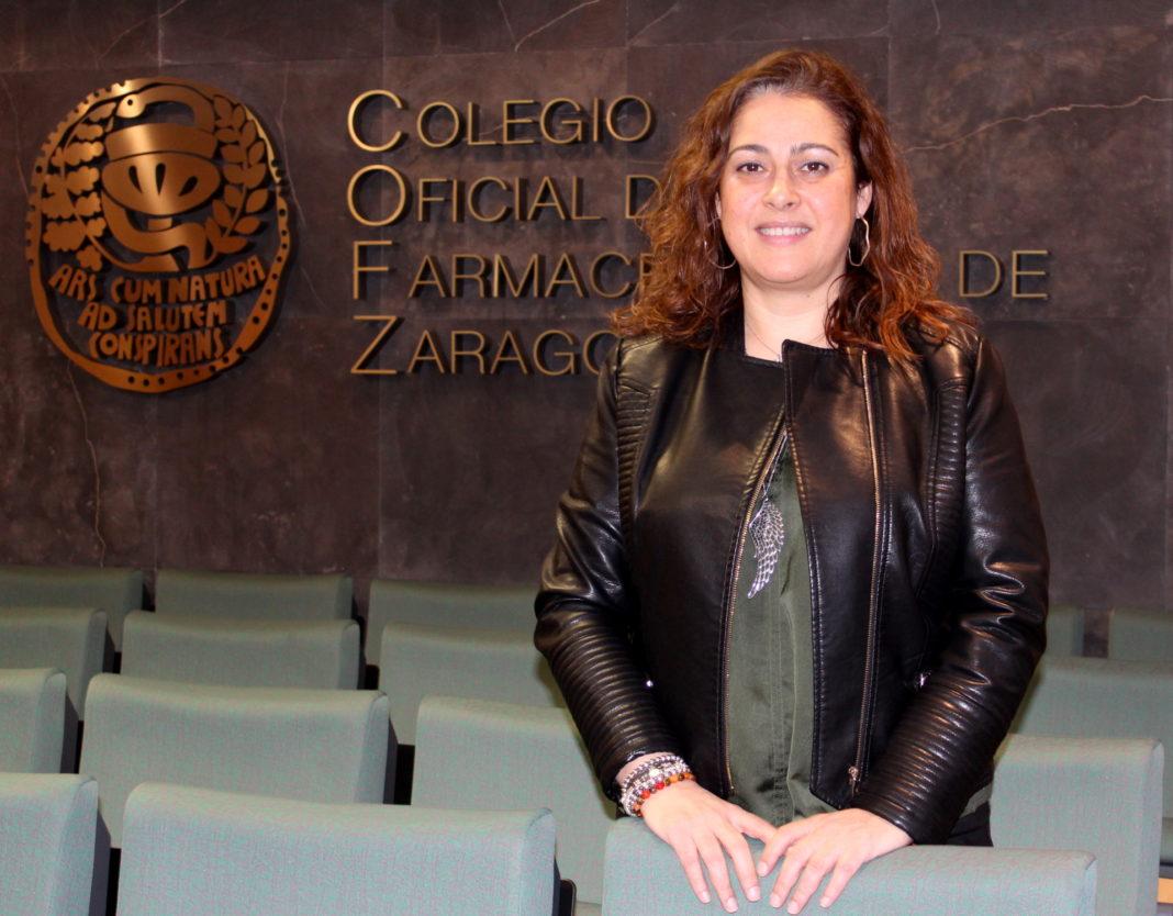 Raquel garcía, presidenta del COF de Zaragoza