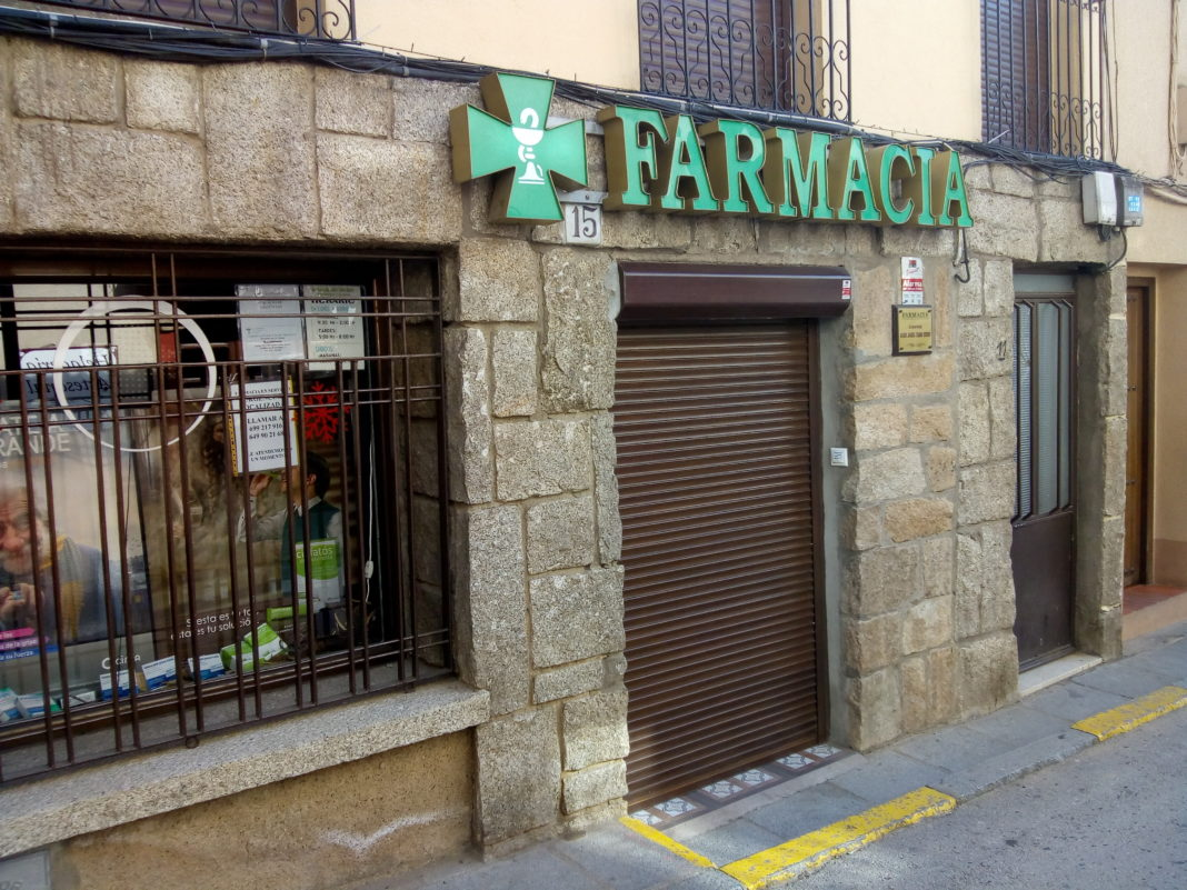 farmacia cerrada