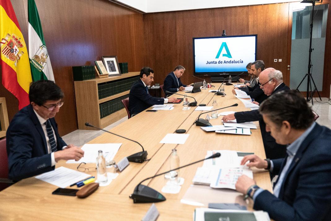 Gabinete Crisis Andalucía