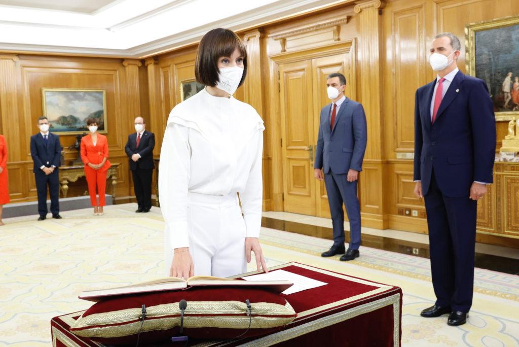 Diana Morant jura cargo ante el Rey