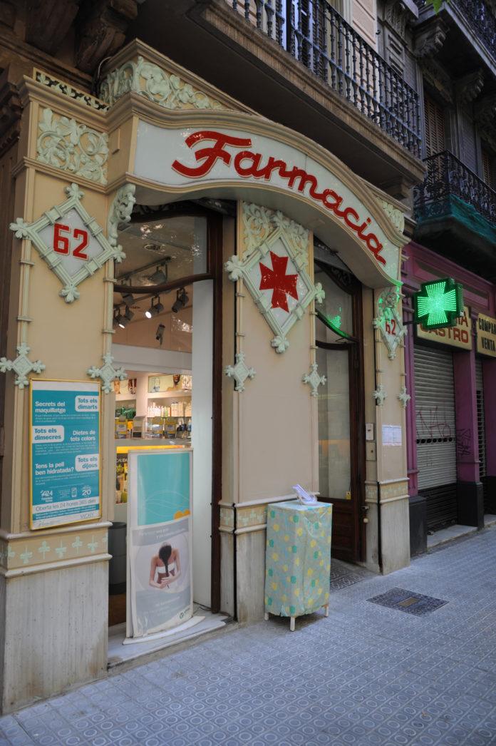 farmacia Cataluña